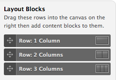Webform Layout Blocks
